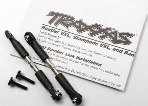 Traxxas Turnbuckles camber link 39mm (69mm center to center) (assembled with rod ends and hollow balls) (1 left 1 right)