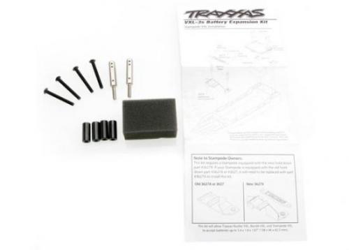 Traxxas Battery expansion kit (allows for installation of taller multi-cell battery packs)