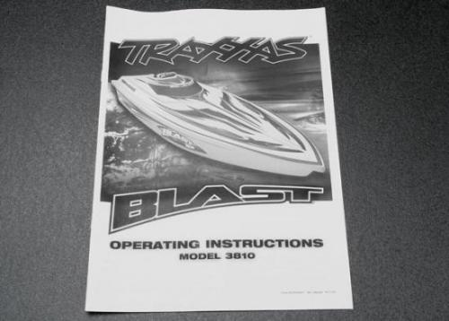 Traxxas Owners manual Blast