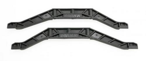 Traxxas Chassis braces lower (black) (2)