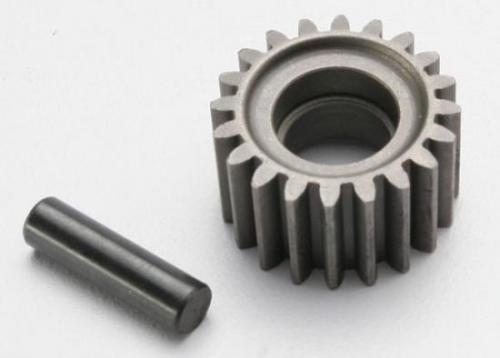 Traxxas Idler gear 20-tooth/ idler gear shaft