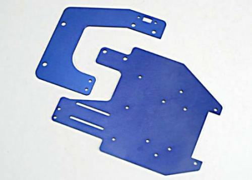 Traxxas Chassis plates T6 aluminum (front rear)