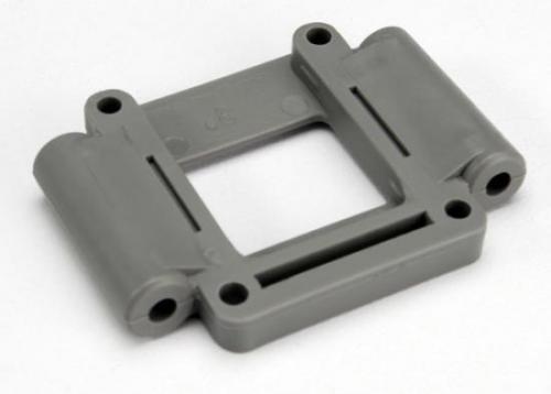 Traxxas Suspension mount lower (3 degree-std) (grey)