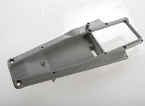 Traxxas Upper chassis deck (grey) composite