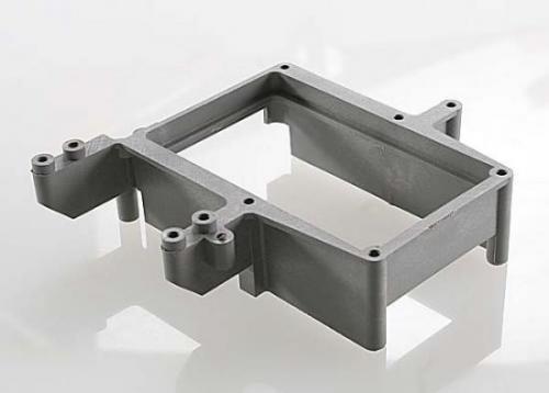 Traxxas Fuel tank box (holder)/ throttle servo mount (grey)