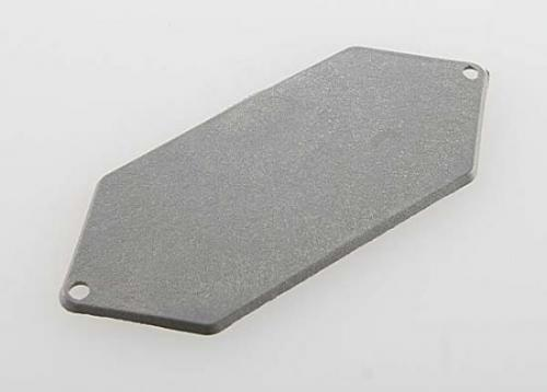 Traxxas Mounting plate receiver (grey)