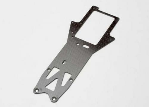 Traxxas Chassis top plate graphite