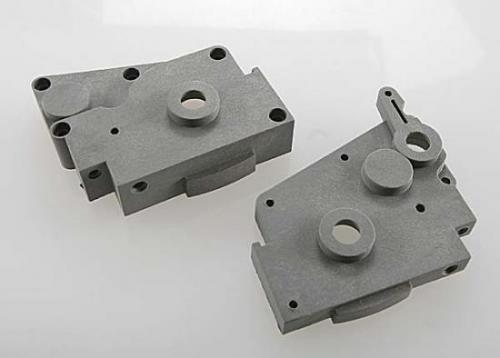 Traxxas Gearbox halves (grey) (left right) ** CLEARANCE **