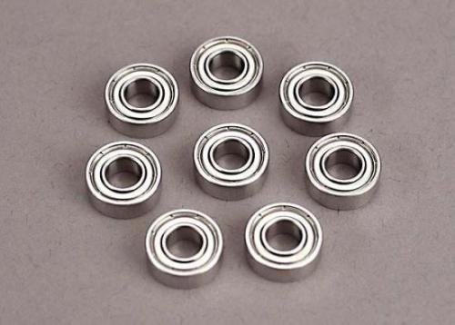Ball Bearings - Steel Shielded (5x11x4mm) (8)