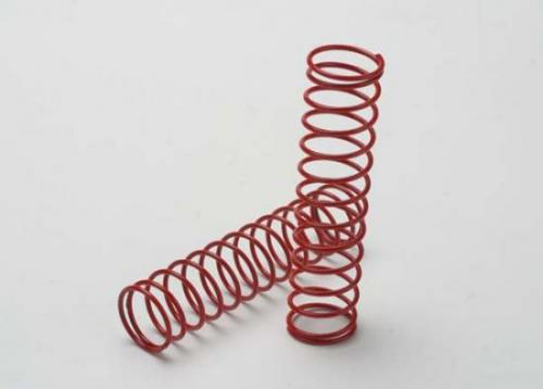 Traxxas Springs red (for Big Bore shocks) (2.5 rate) (2)