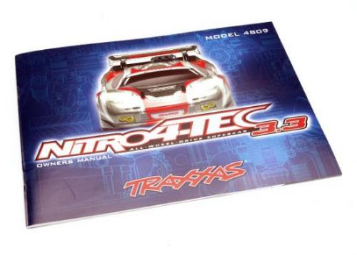 Traxxas Owners manual Nitro 4-Tec (with TRX 3.3 Racing Engine)