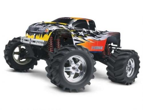 Traxxas Disruptor body for nitro Maxx trucks (custom painted and trimmed)