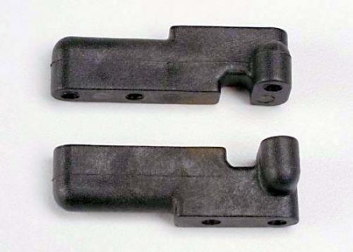 Traxxas Servo mounts steering/ shift (F R) (black)
