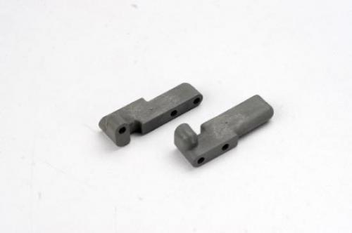 Traxxas Servo mounts steering/shift (F R)(grey)