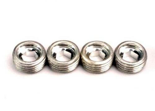 Traxxas Aluminum caps pivot ball (4) ** CLEARANCE **