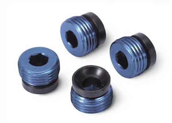 Traxxas Aluminum Pivot Ball Caps blue-anodized