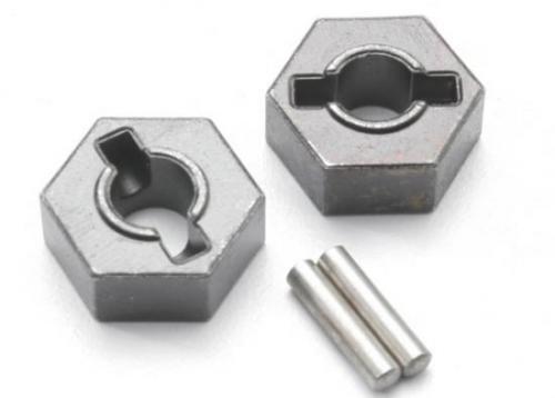 Traxxas Wheel hubs hex (steel)