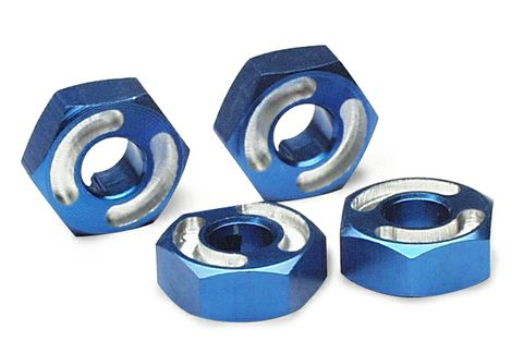 Traxxas Aluminum Wheel Hex Hubs blue-anodized