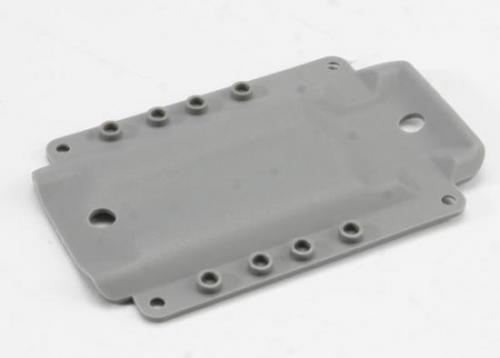 Traxxas Skidplate transmission nylon (grey) (for long wheelbase chassis)