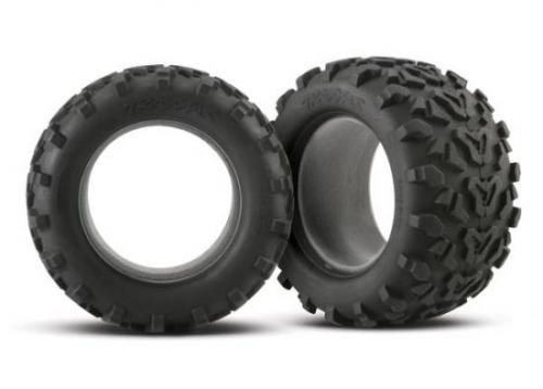Traxxas 6.3 Inch MAXX Tyres - Fits Traxxas 3.8 Inch Rims - Pair