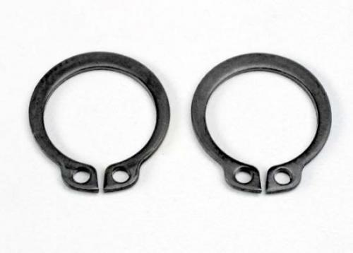 Traxxas Rings retainer (snap rings) (14mm) (2) ** CLEARANCE **