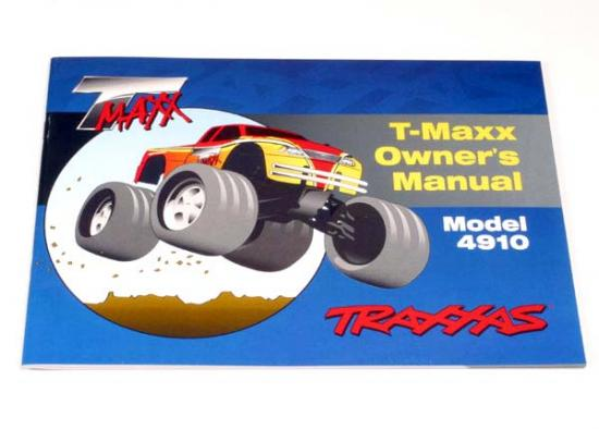Traxxas Owners Manual T-Maxx