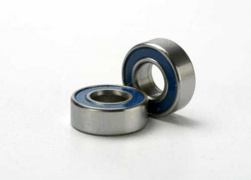 Traxxas Ball bearings blue rubber sealed (5x11x4mm) (2)