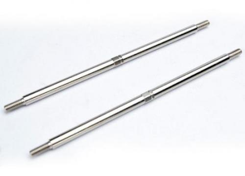 Traxxas Turnbuckles toe links (5.0mm steel) (rear) (2)