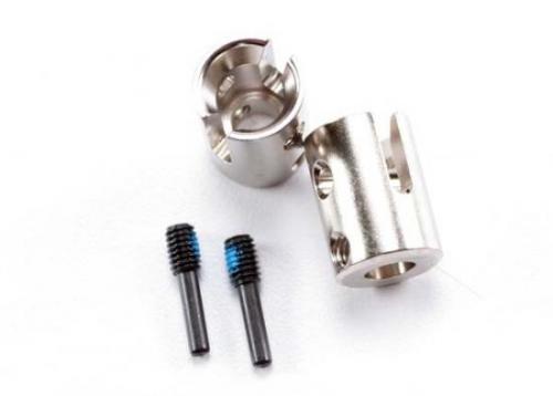 Traxxas Drive cups inner (2) Revo/Maxx (steel constant-velocity driveshafts)/screw pin M4/15(2)