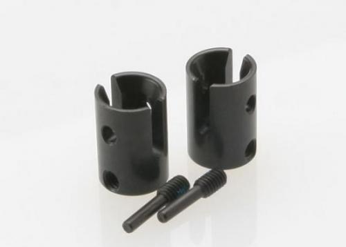 Traxxas Drive cups inner (2) Revo (steel constant-velocity driveshafts)/screw pin M4/15(2) (for use only with 5333R adjustable wheelbase rear suspension arms)