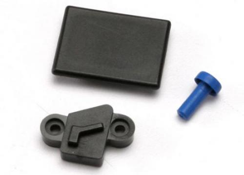 Traxxas Cover plates and seals forward only conversion (Revo) (Optidrive blank-out plate Optidrive sensor cover shift fork cover) These seals cover all of the openings in the receiver box and transmission when the forward only conversion is installed in R