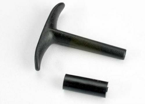 Traxxas Pull handle recoil starter/ shock absorber (TRX 2.5)