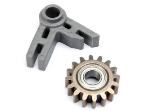 Traxxas Gear idler/ idler gear support/ bearing (pressed in) ** CLEARANCE **
