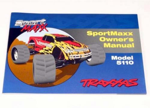 Traxxas Owners Manual SportMaxx