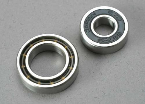 Traxxas Ball bearings 7x17x5mm (1)/ 12x21x5mm (1) (TRX 3.3 2.5R 2.5 engine bearings)