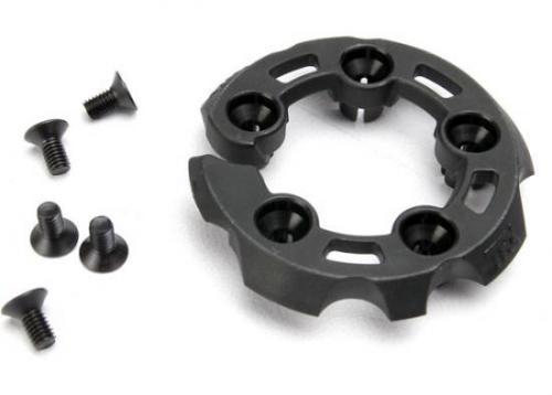 Traxxas Head protector cooling head (1)/3x6mm CCS (5) (TRX 3.3)