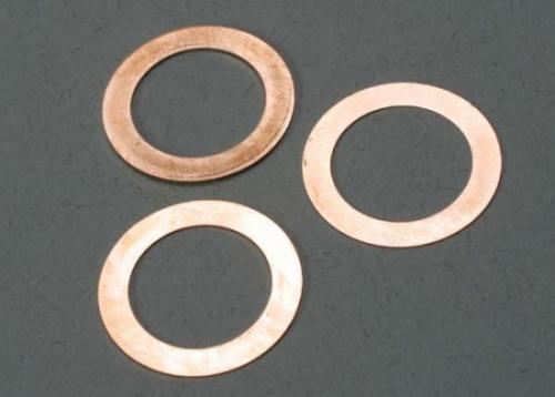 Traxxas Gaskets cooling head: 0.15 0.25 0.35mm (1 each) (TRX 2.5 2.5R)