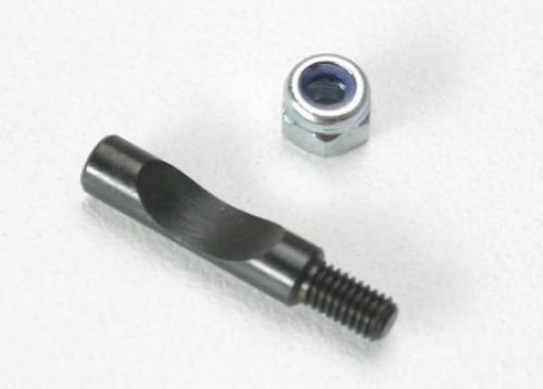 Traxxas Bolt carburetor pinch/ 3mm locknut (TRX 2.5 2.5R)