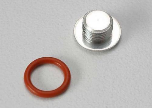 Traxxas End cap carburetor body/ 6.2x1.2mm O-ring/ (1-each) (TRX 2.5 2.5R)