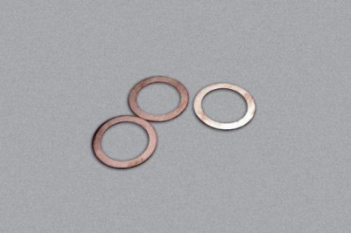 Traxxas Gaskets cooling head: 0.20 0.30 0.40mm (1 each) (0.30mm stock) (TRX 3.3)