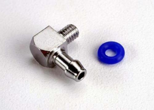 Traxxas Fitting inlet for pipe pressure (90-degree)(1)