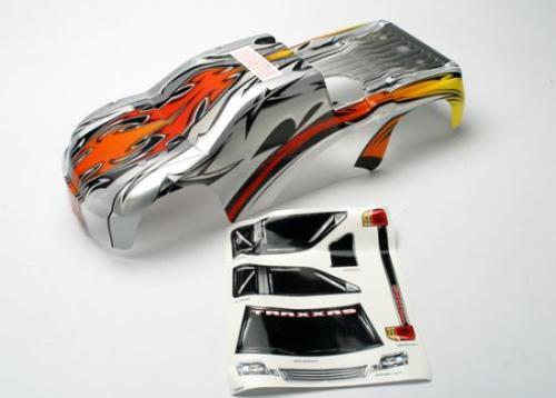 Traxxas Revo 2.5 ProGraphix Bodyshell - Semi Painted - Pre Cut