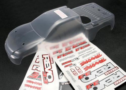 Traxxas Revo 3.3 Clear Bodyshell With Decals