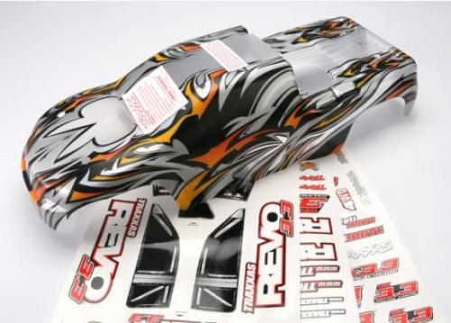 Traxxas Revo 3.3 Semi Painted ProGraphix Bodyshell With Decals