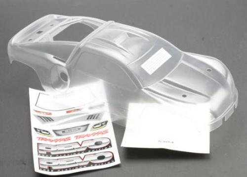Traxxas Body Revo (Platinum Edition) (clear requires painting)/decal sheet