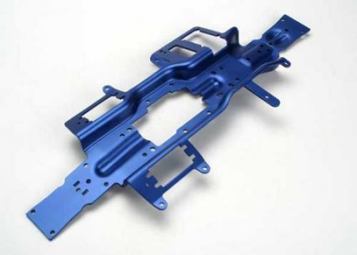 Traxxas Chassis Revo (3mm 6061-T6 aluminum) (anodized blue)