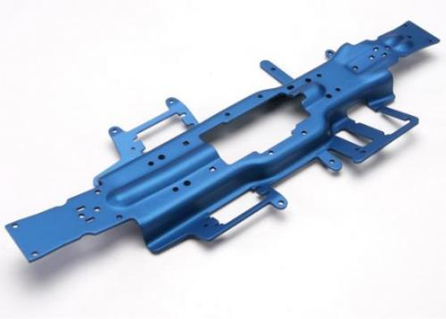 Traxxas Chassis Revo 3.3 (extended 30mm) (3mm 6061-T6 aluminum) (anodized blue)