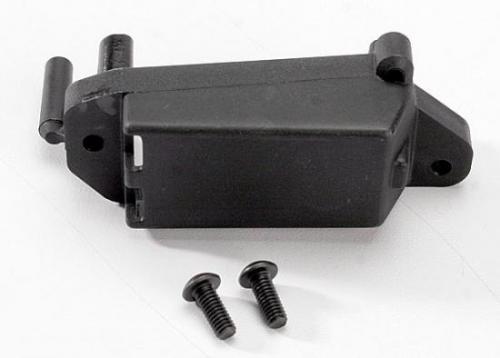 Traxxas Servo mount throttle/ 4x10mm BCS (2)