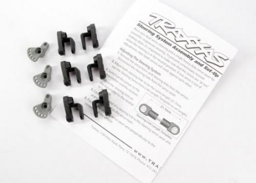 Traxxas Steering and Throttle Servo horns (for non-Traxxas servos (Hitec JR KO Airtronics))