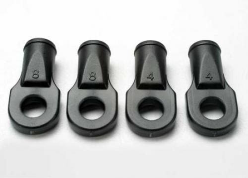 Traxxas Rod ends Revo (large for rear toe link only) (4)